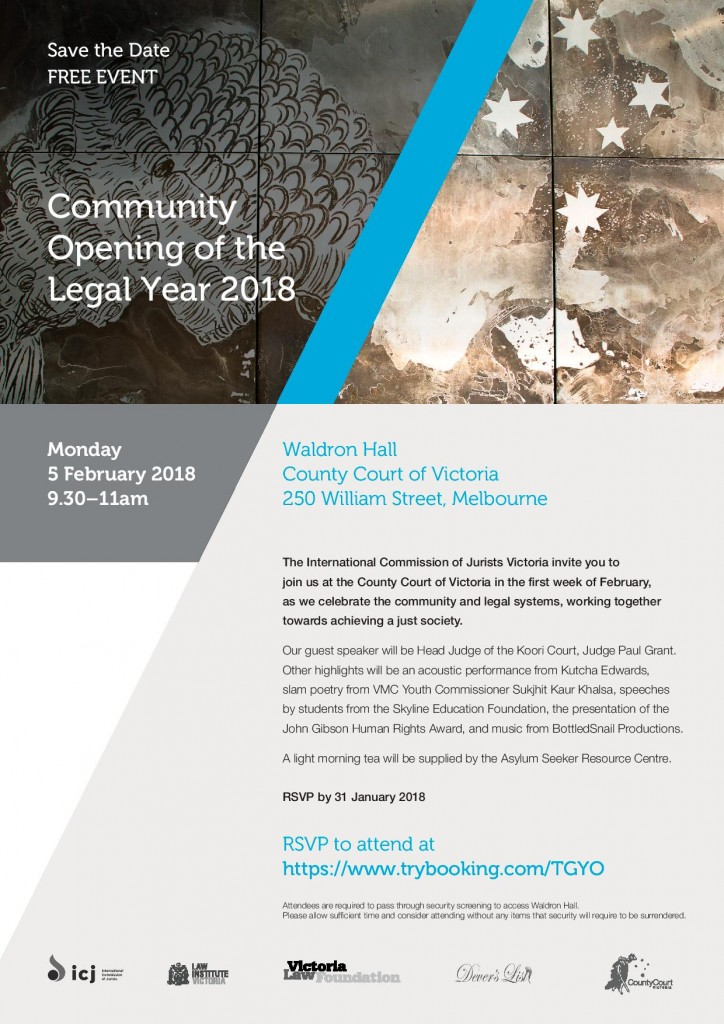 Community Opening of the Legal Year